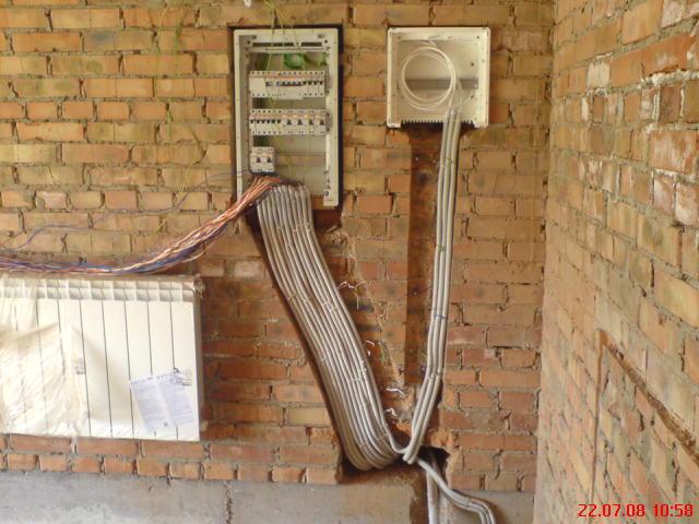 Как сделать электричество в своей квартире 645
