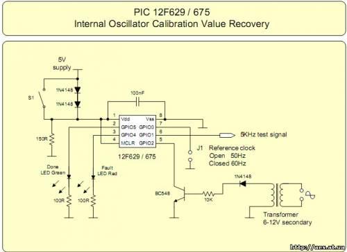 Восстановление OSSCAL для 12F629 & 12F675 CVAVR avr Codevision схемы обучение cvavr.ruВосстановление OSSCAL для...